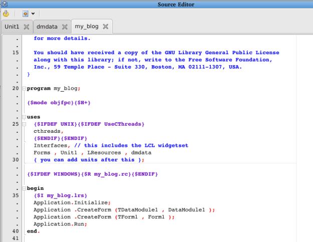 קוד המקור של הפרוייקט