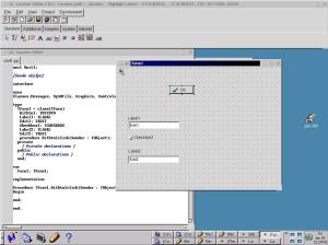 לזרוס 0.5 על KDE