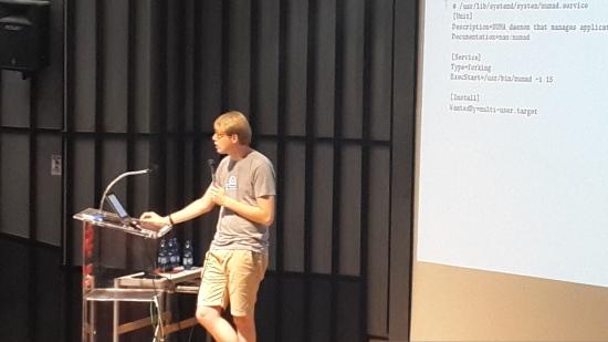 הרצאה על systemd